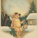 Weihnachtskarten mit Kindern und Geschenken