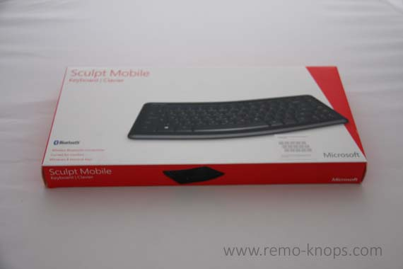 Microsoft Sculpt Mobile Bluetooth Keyboard 4378