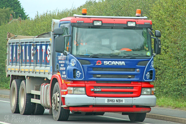 Scania P320 Tipper Bartlett BH61 NBH
