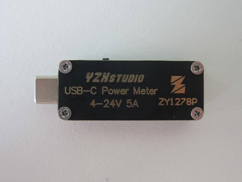 YZXstudio USB-C Power Meter - Back
