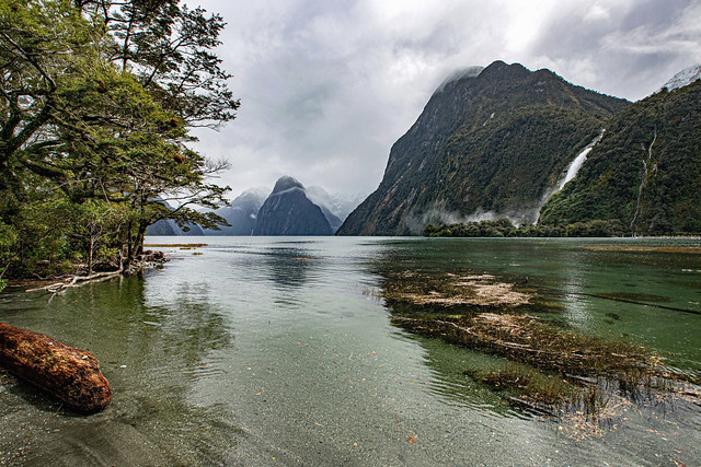 Milford Sound Sun Shower