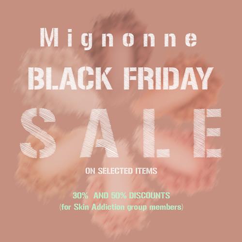 Mignonne x Black friday