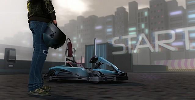 Let's Go E-Kart Racing