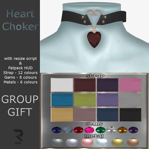 Heart Choker Group Gift
