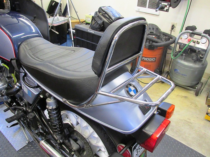 Finished Seat Back And Rear Luggage Rack