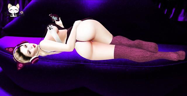Kioko Gamer Violet
