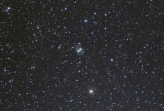 M76 The Little Dumbell Nebula in Perseus. 221120