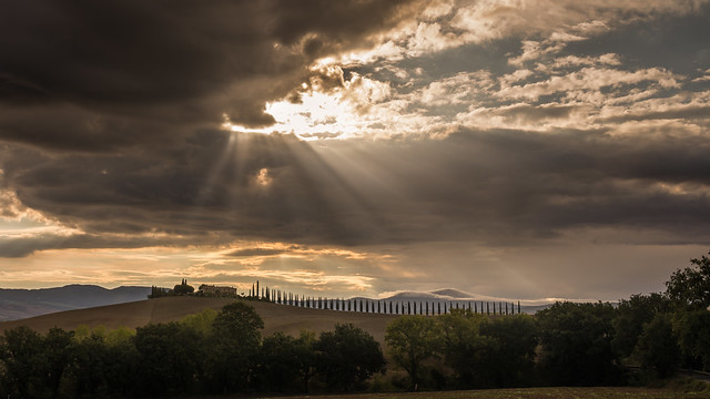 Sunrise at Poggio Covili - Tuscany