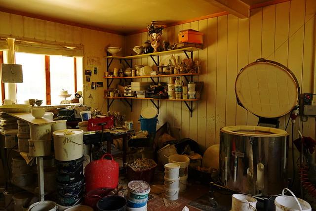 The ceramic workshop