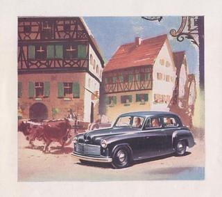 HILLMAN MINX Mark IV Saloon Car Dealer Sales Sheet (Great Brittain 1949)_3