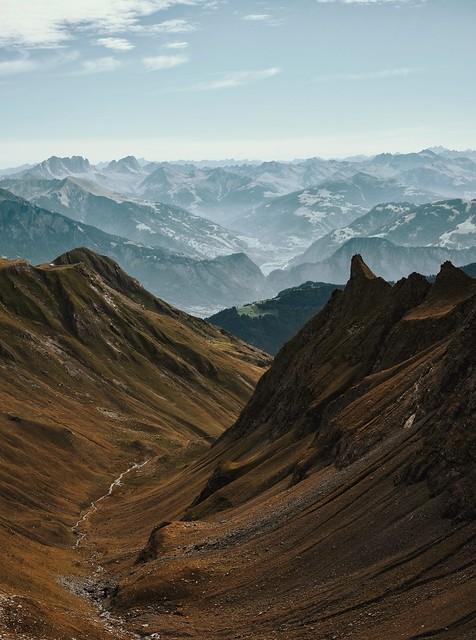 Pizol landscapes