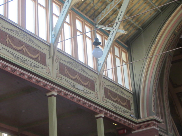 A  Gallery Meets  an Arch, Structural Detail,  Exhibition Building, 1880, Carlton Gardens, Melbourne