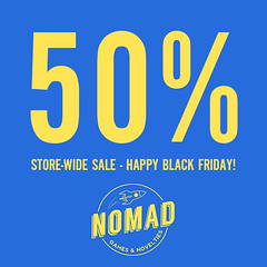 NOMAD // 50% OFF EVERYTHING!