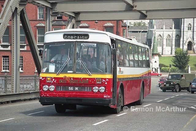 Bus Eireann MG56 (56IK).