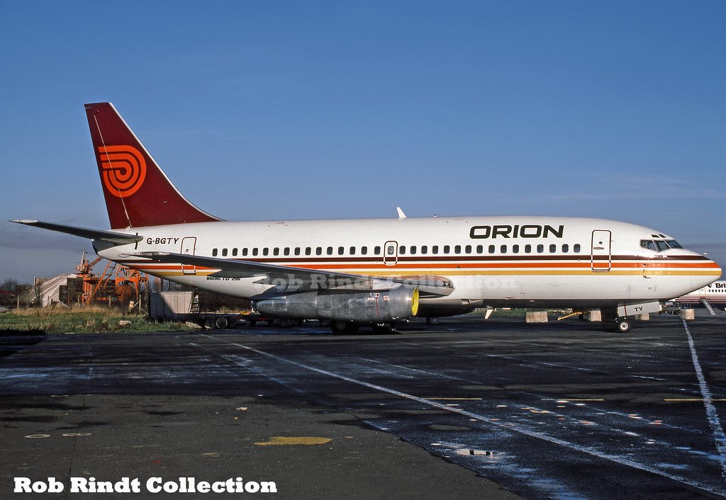 Orion Airways B737-2Q8/Advanced G-BGTY