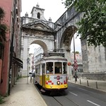 Tram 557 de Lisbonne (Portugal)