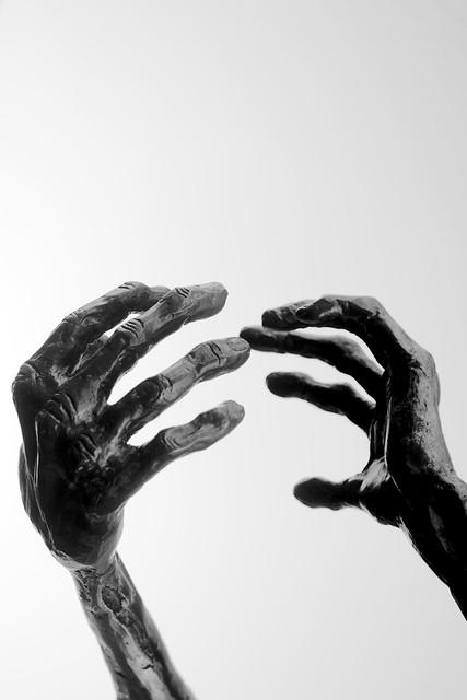 Gatherer hands...