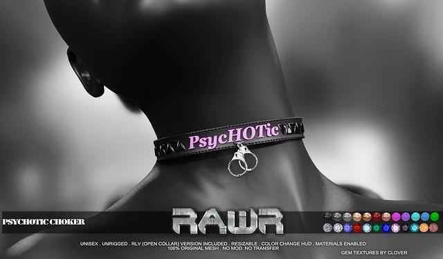 RAWR! Psychotic Choker PIC