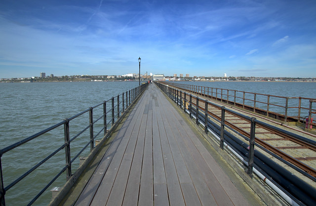Down the longest pier in the UK