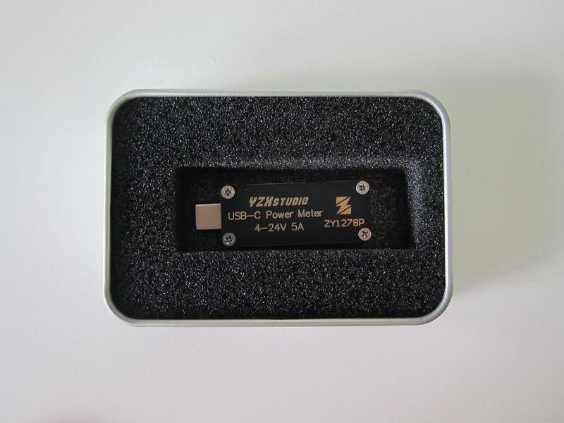 YZXstudio USB-C Power Meter - Box Open