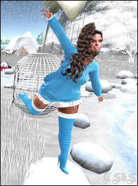 ღ [ LsR ] – Sexy Elvaz Dress Big Fatpack + R Poses Horizon + TREND Divine Lip Gloss ღ
