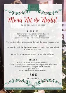 Menú Nit Nadal - H.Estela