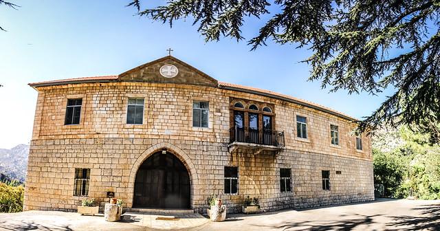 Saint Anthony the Great Monastery Houb Tannourine Lebanon