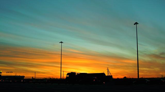 На закате / At the sunset