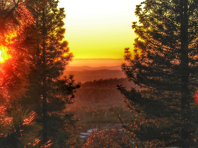 Sunset from the Foothills 1