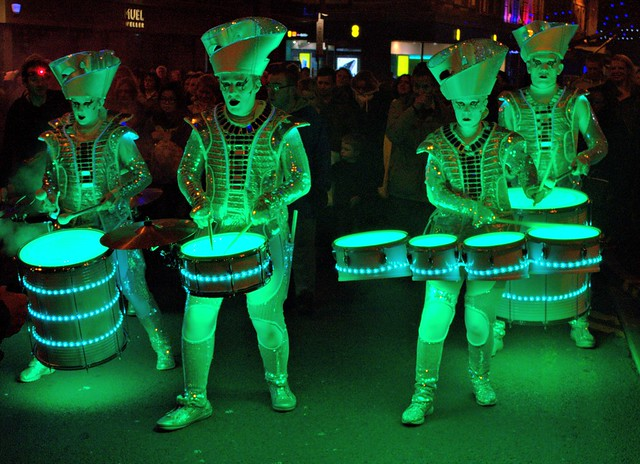 Spark Drummers by Worldbeaters Music in Blackpool