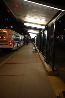 A Chicago CTA Bus Stop