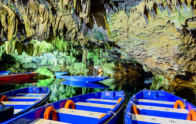 Still Waters inside the Caves of Diros