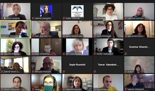 """ონლაინ კონფერენცია """"ფემიციდის პრევენცია და მონიტორინგი"""" / 24.11.2020 / Online Conference on Femicide Prevention and Monitoring"""