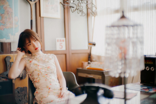宮崎光學 Sonnetar 50mm f1.1 旗袍表現