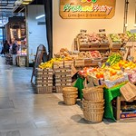 Fruit & Veg stall at Preston Market