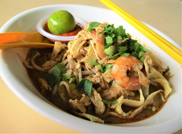 Happy Hours Sarawak laksa, regular
