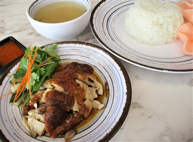 Nam Heong signature roasted chicken rice