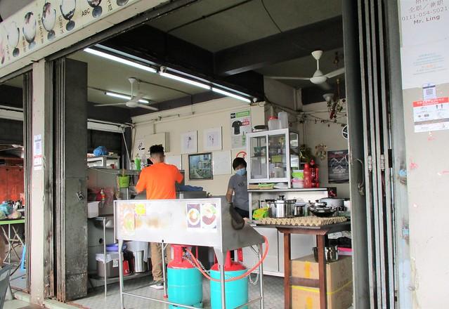 Happy Hours Sarawak laksa stall