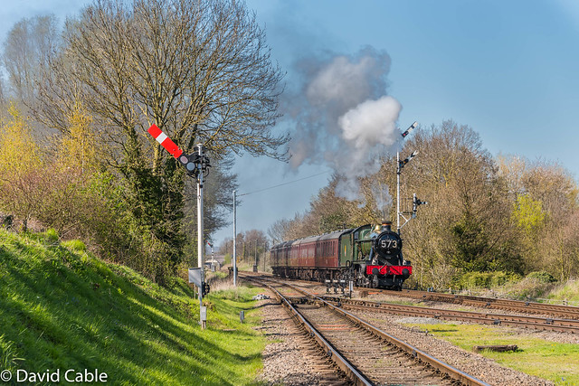 6990 Witherslack Hall - approaching Quorn