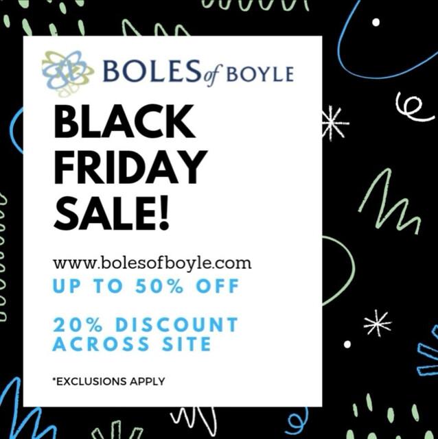 Boles of Boyle - Black Friday