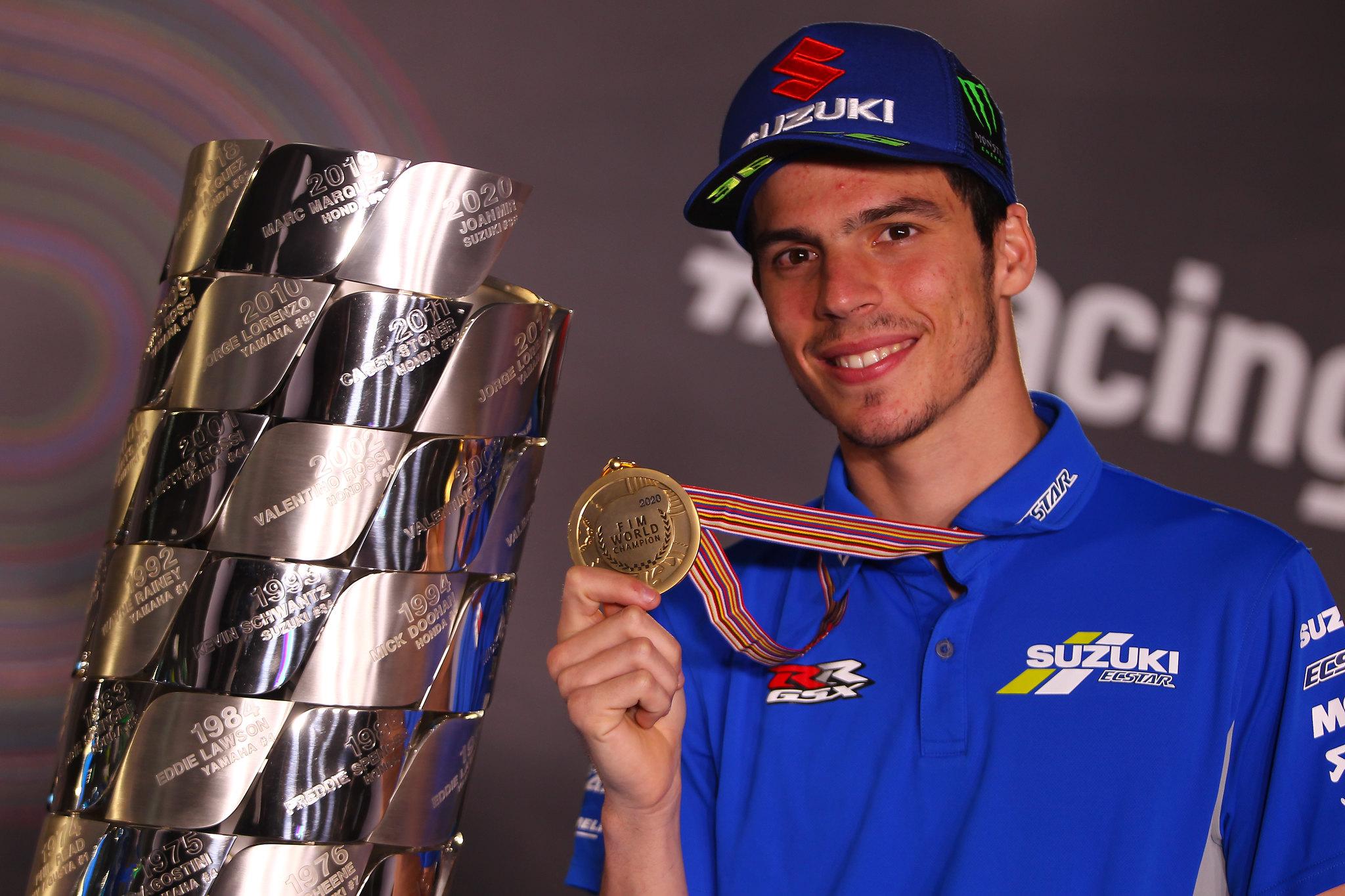 Joan Mir - MotoGP wereldkampioen