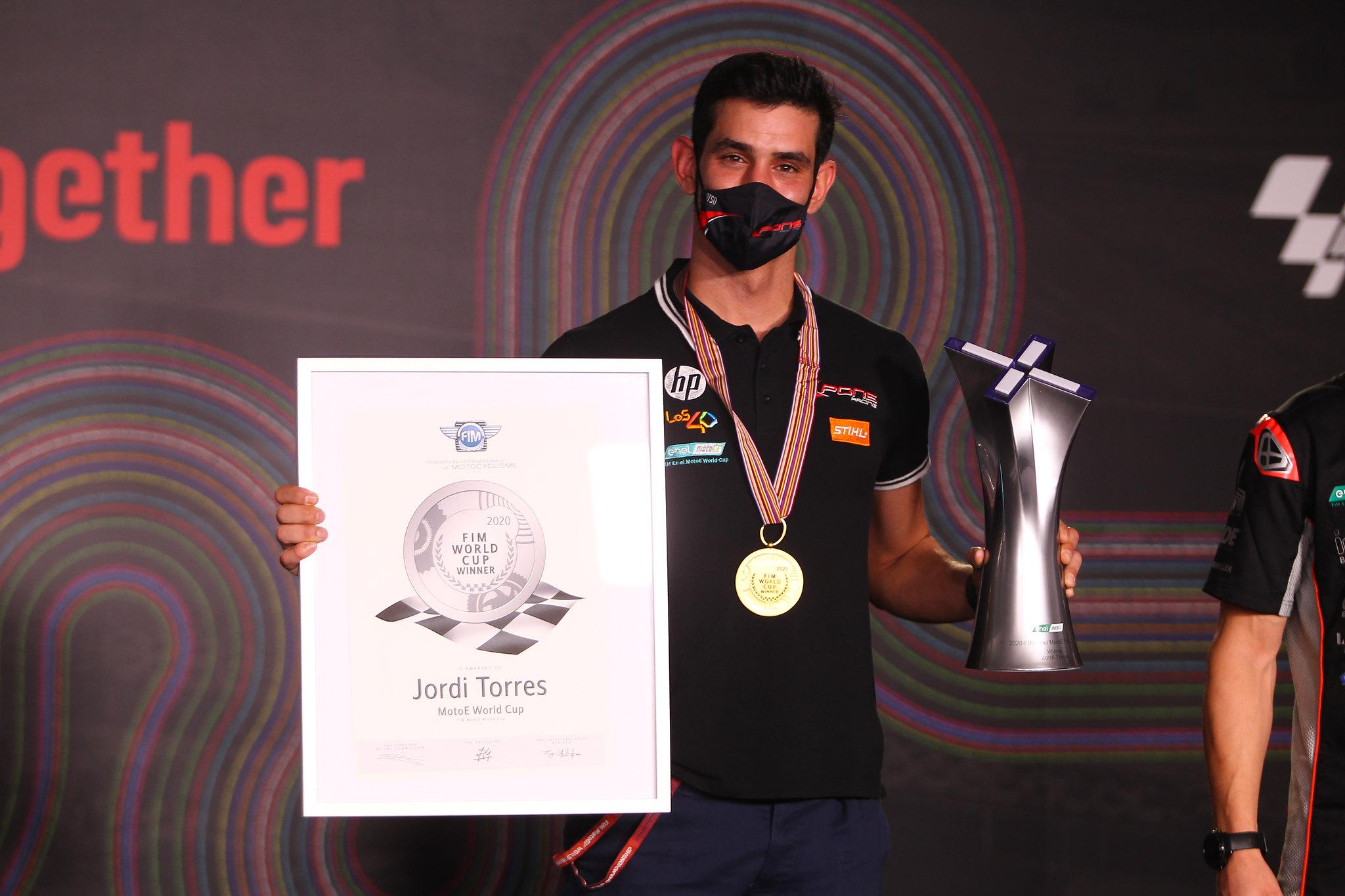 Jordi Torres - MotoE kampioen