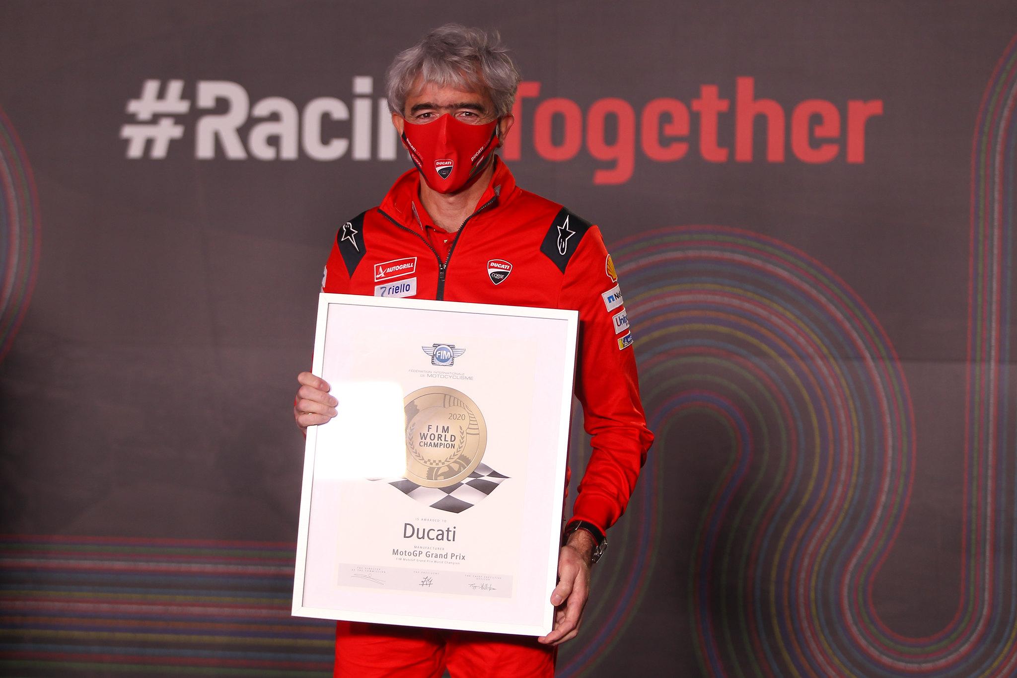 Ducati - MotoGP constructeurs titel