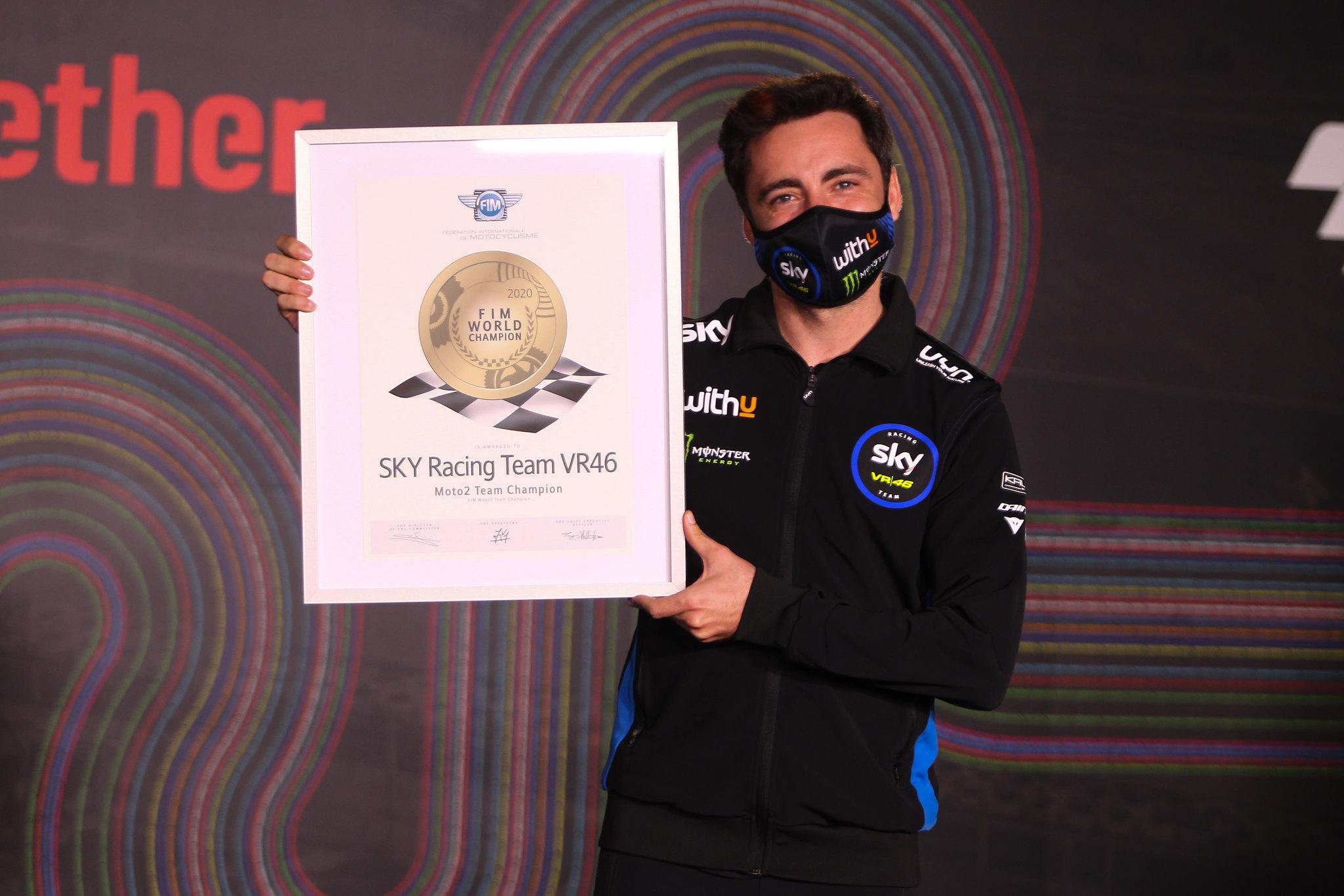 SKY Racing Team VR46 - Moto2 team wereldkampioen