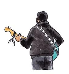 gitarist / guitar player