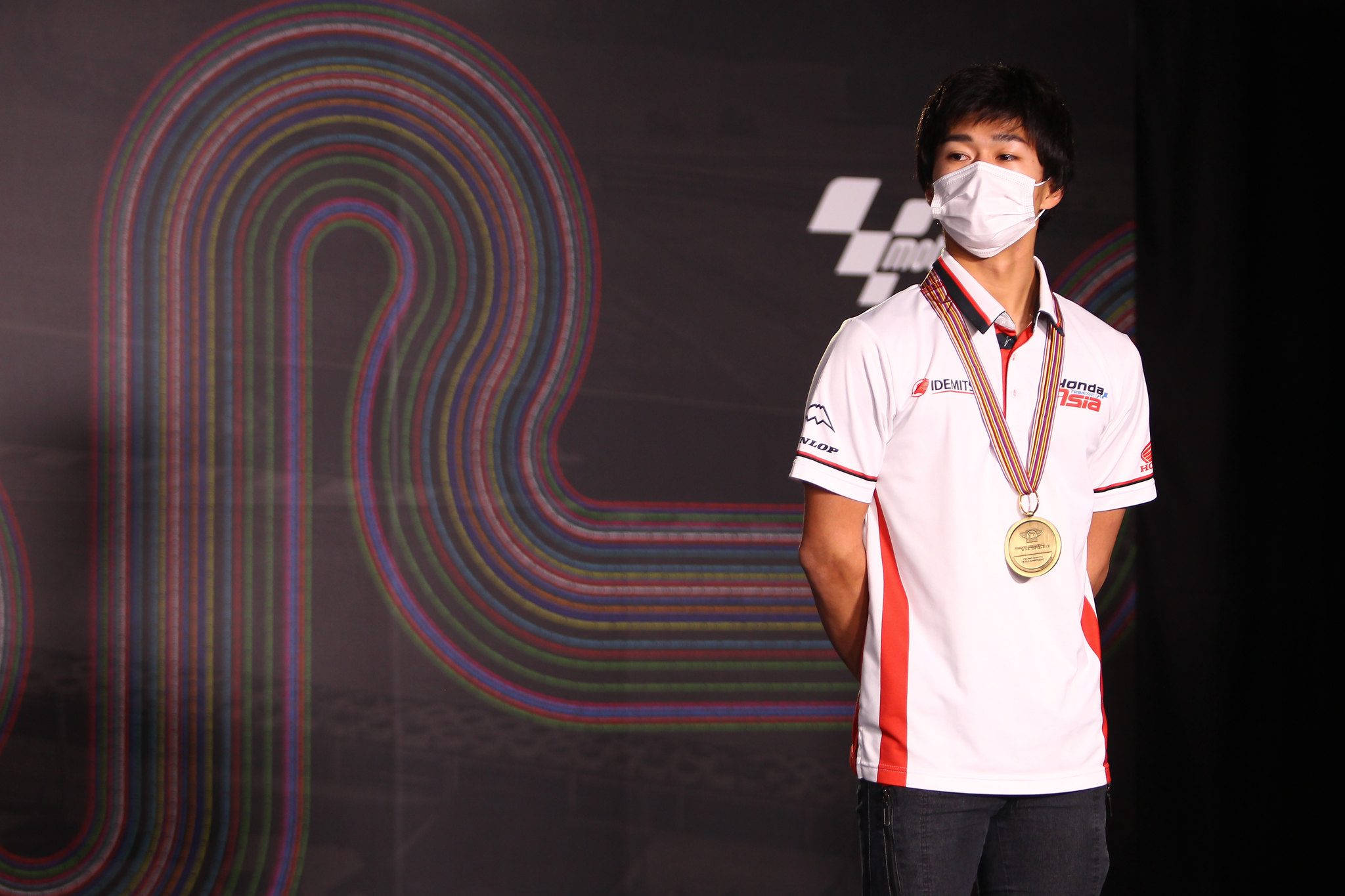 Ai Ogura - Moto3 derde