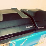 2x Polaroid Spectra with Spectra F112 Closeup Lens promo