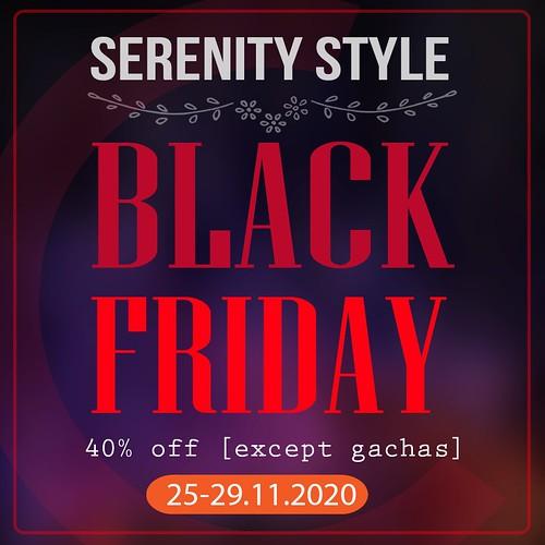 Serenity Style BLACK FRIDAY 2020