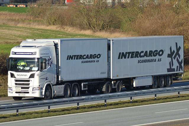 Scania NG R 650 V8 - Intercargo Scandinavia - Intercargo Scandinavia.no -  Sass Logistics SRL - RO  BV 07NOK