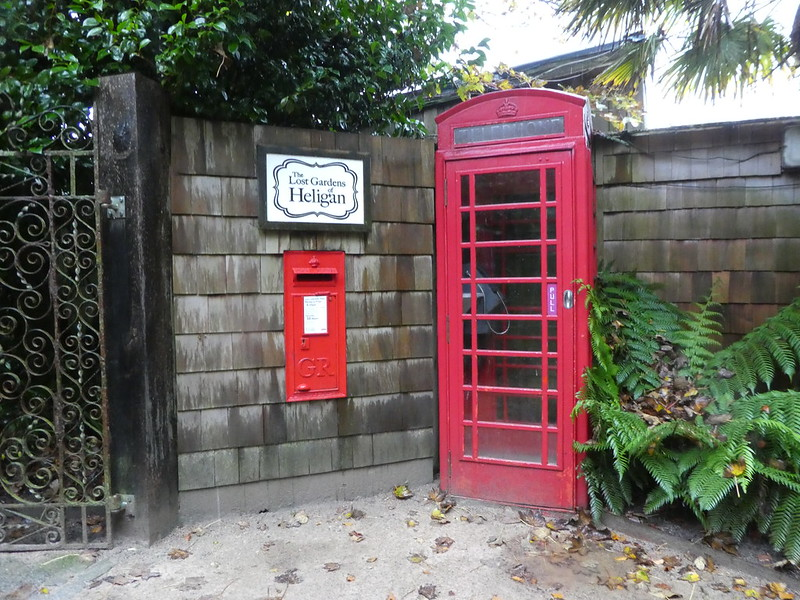 The Lost Gardens of Heligan entrance